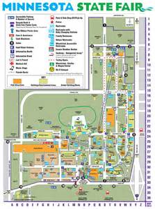 Map Of Mn State Fair by Minnesota State Fair Maps And Directions