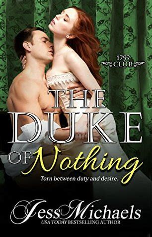 the duke of nothing the 1797 club volume 5 books roses are blue fiction reviews and discussions