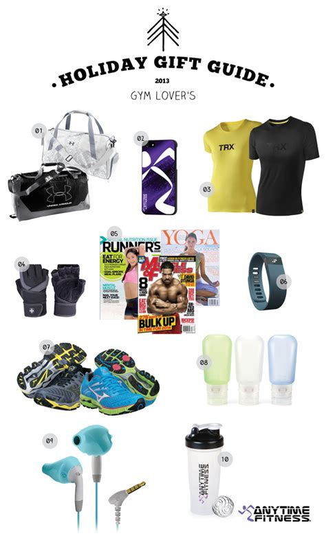 gym lover s gift guide 2013