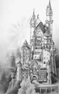pencil drawings of fantasy castles bing images castles