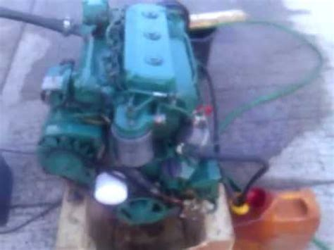 volvo penta  hp naturally aspirated marine engine youtube