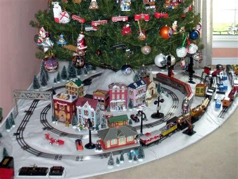 lionel christmas train layout my marx 027 tinplate