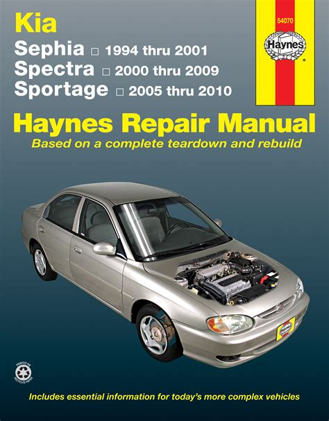manual repair autos 2001 kia sephia on board diagnostic system kia sephia spectra sportage covering sephia 94 01