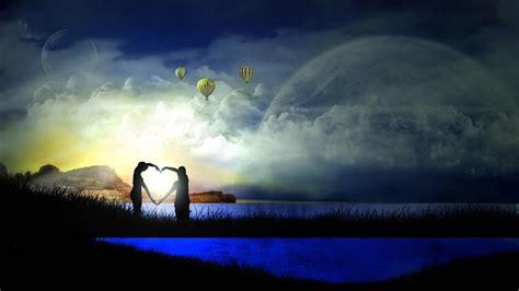 bioskopkeren moon lovers love fantasy wallpaper 126387
