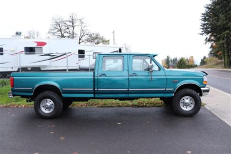 1994 Ford F350 XLT Crew Cab Long Bed 4x4 1995 1996 1997