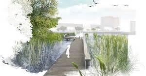 Landscape Architecture Photoshop Library Sistemazione Paesaggista Lungolago Di Aspern Vienna