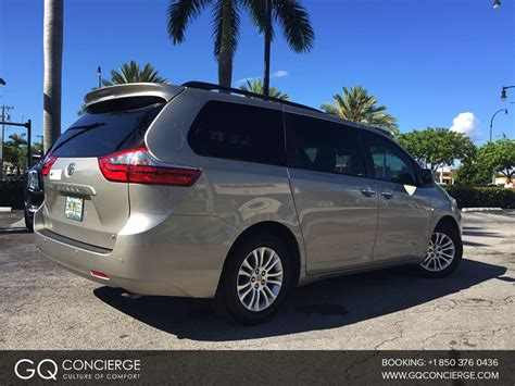 toyota sienna minivan boston airport car rental and taxi cab service аренда минивэна toyota sienna в майами