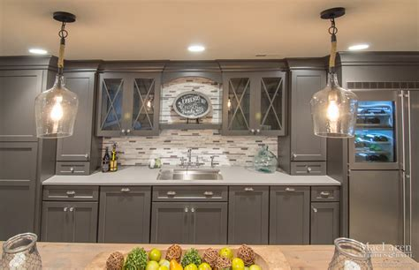 Best Kitchen Island Design by Custom Quartz Countertops Maclaren Kitchen And Bath