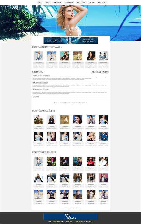 coppermine gallery themes free lindadesign nonstop 187 ingyenes t 233 ma coppermine gallery