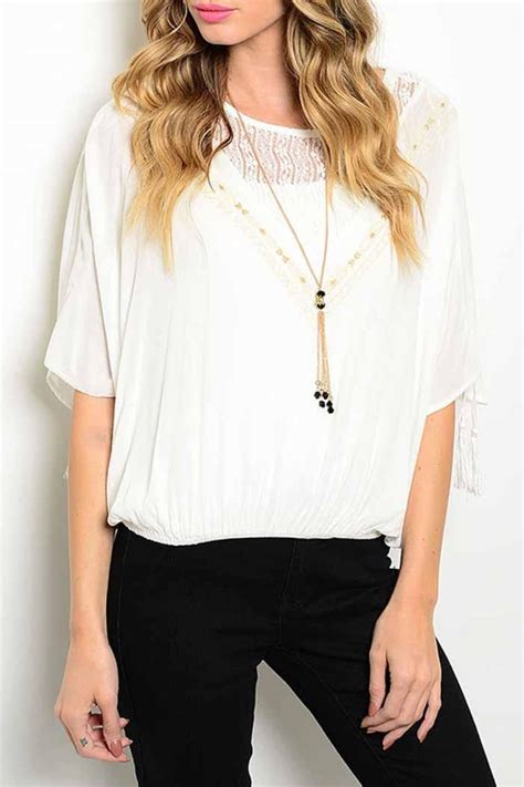 Dressy White ambiance dressy white blouse from vermont by avenue a