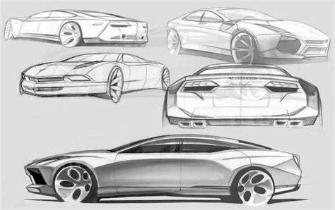 Sketch Of A Lamborghini Leaked Sketches Reveal Lamborghini S New World Wired