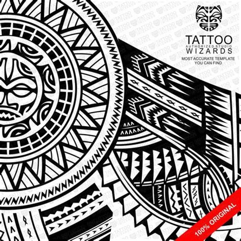samoan warrior tattoo designs warrior sun 2 vector template stencil