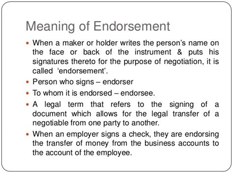 Or Meaning Negotiation And Effects Of Endorsement