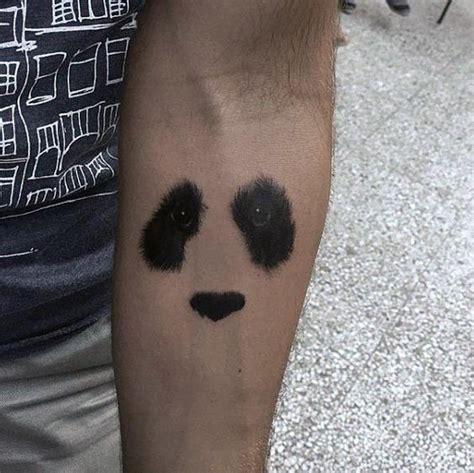 panda tattoo minimalist 100 panda bear tattoo designs for men manly ink ideas