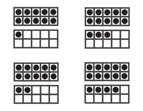 10 frame template printable free worksheets 187 printable ten frames free math