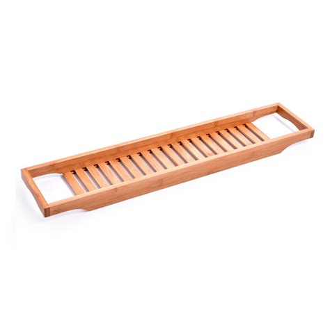 honana bh 727 bathtub rack bamboo caddy shelf shower tub