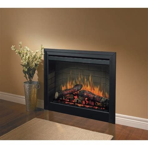 Built In Electric Fireplace Electraflame 33 Inch Built In Electric Fireplace With