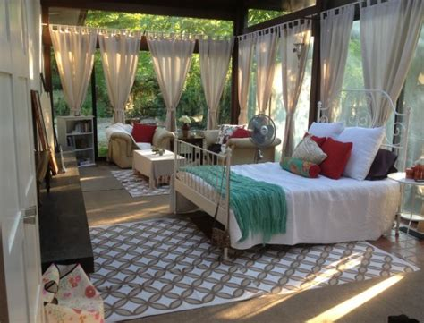turning a sunroom into a bedroom new customer find by lauren perugini