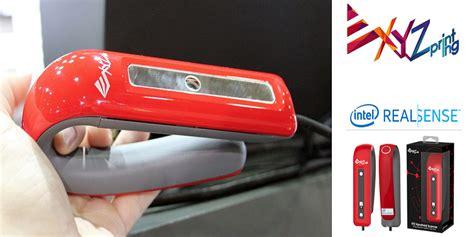 Scanner 3d Portabel Xyz By Taka xyzprinting debuts new intel realsense handheld 3d scanner