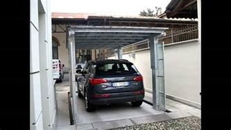 coperture mobili per auto affordable ascensore per auto con tetto di copertura green