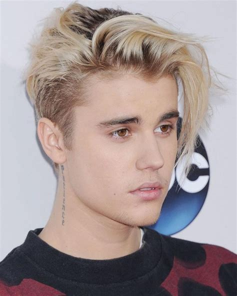 justin bieber hairstyle trendy justin bieber s blonde hairstyles for 2016