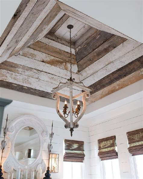 diy recycled decoration idea for hang on ceiling 12 recycled pallet wood ceiling designs pallets designs