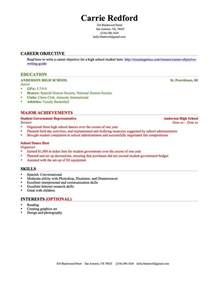 Resume For High School by How To Write A Resume With No Experience Popsugar Career And Finance