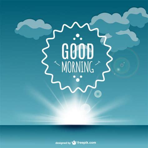 imagenes de good morning my life good morning label vector vector free download