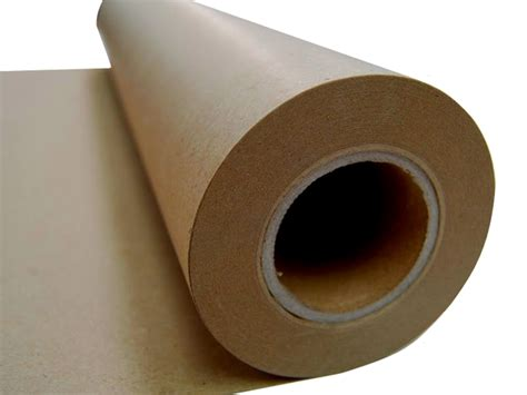 Brown Craft Paper Roll - new kraft brown packaging paper roll 600mm x 50m 80gsm