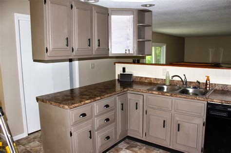 Modernize Kitchen Cabinets Linen Chalk Paint Kitchen Cabinets Www Pixshark Images Galleries With A Bite
