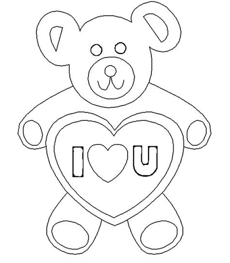 i love you bear coloring pages teddy bear i love you coloring pages batch coloring