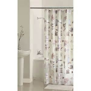 Walmart Bathroom Shower Curtains Mainstays Bamboo Nature S Momemts Peva Shower Curtain Walmart
