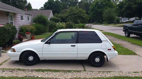 Toyota Corolla 3 Door Hatchback 1988 Toyota Corolla Fx Hatchback 3 Door 1 6l For Sale