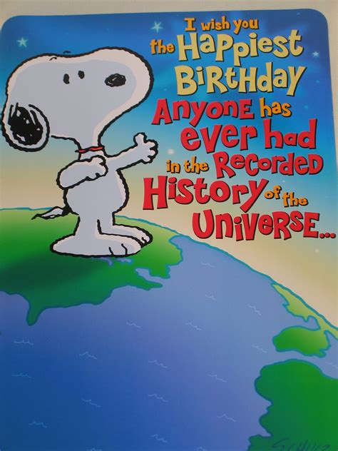 happy birthday images snoopy birthday quotes by snoopy quotesgram