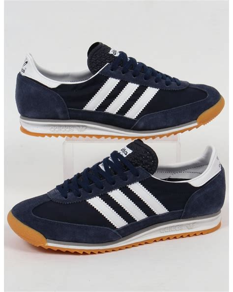 Adidas For adidas sl 72 trainers navy white originals shoes sneakers