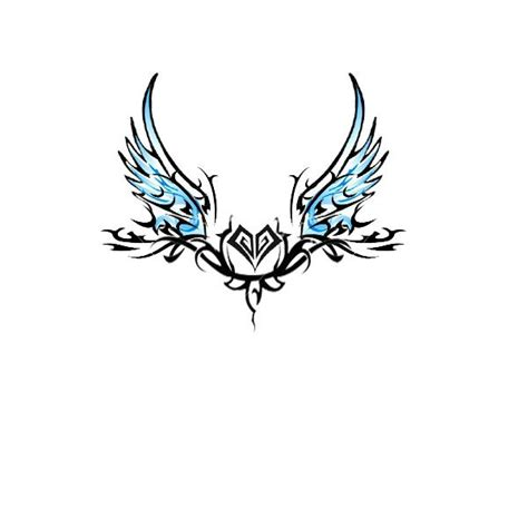 small heart with angel wings tattoo designs wing tattoos with the name alex wings tr