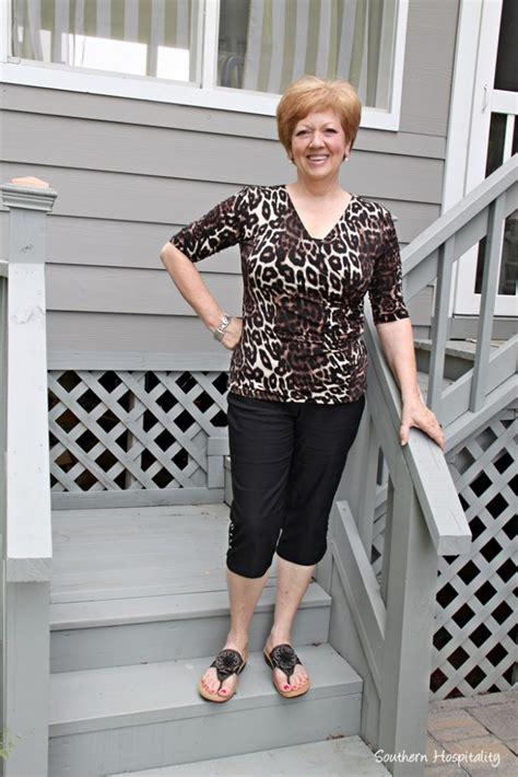 style over 50 slenderizing fashion over 50 summer shorts more southern hospitality