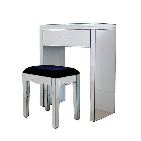 mirrored dressing table mini mirrored dressing table by out there interiors