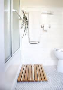 cedar bath mat 6 spa like bathroom decorating ideas that will leave you