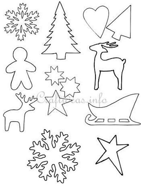 printable templates for christmas crafts free christmas crafts patterns special day celebrations