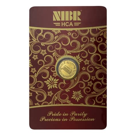 1 gram 24 karat gold price in india buy nibr gold coin of 1 grams in 24 karat 995 purity at