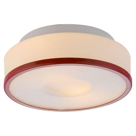 lynch flush mount ceiling lynch opal flush mount ceiling light white with red ring