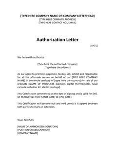 Authorization Letter Dhl The World S Catalog Of Ideas