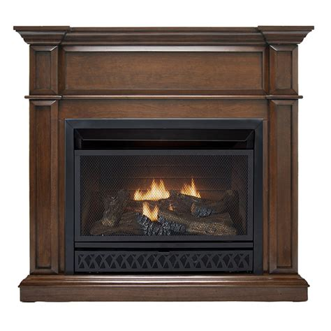 Hearthsense Ventless Fireplace System With Dual Fuel Ventless Gas Stove Fireplace