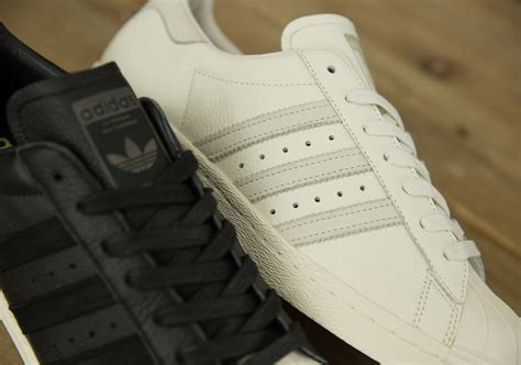 Adidas Superstar Premium adidas superstar premium leather size exclusive black white 4 crepjunkie all things creps