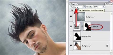 hair selection tutorial photoshop cs3 selecting extracting hair masking tutorial