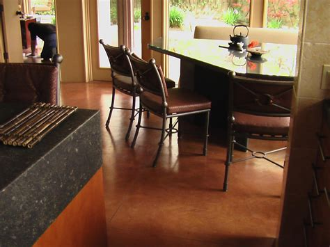 why concrete floors rock home remodeling ideas for