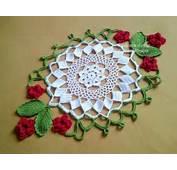 Delicadezas En Crochet Gabriela Servilletas Con ESQUEMA