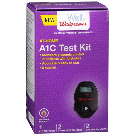 At Home Test walgreens at home a1c test kit walgreens