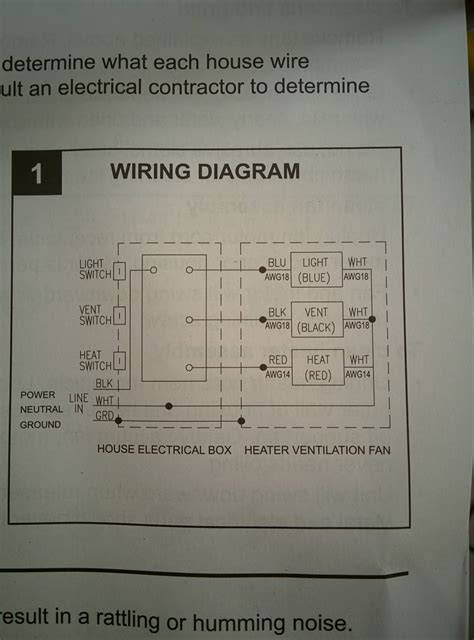 wiring diagram for bathroom heater fan light 44 wiring